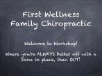 First_Wellness Chiropractic Workshop Presentation